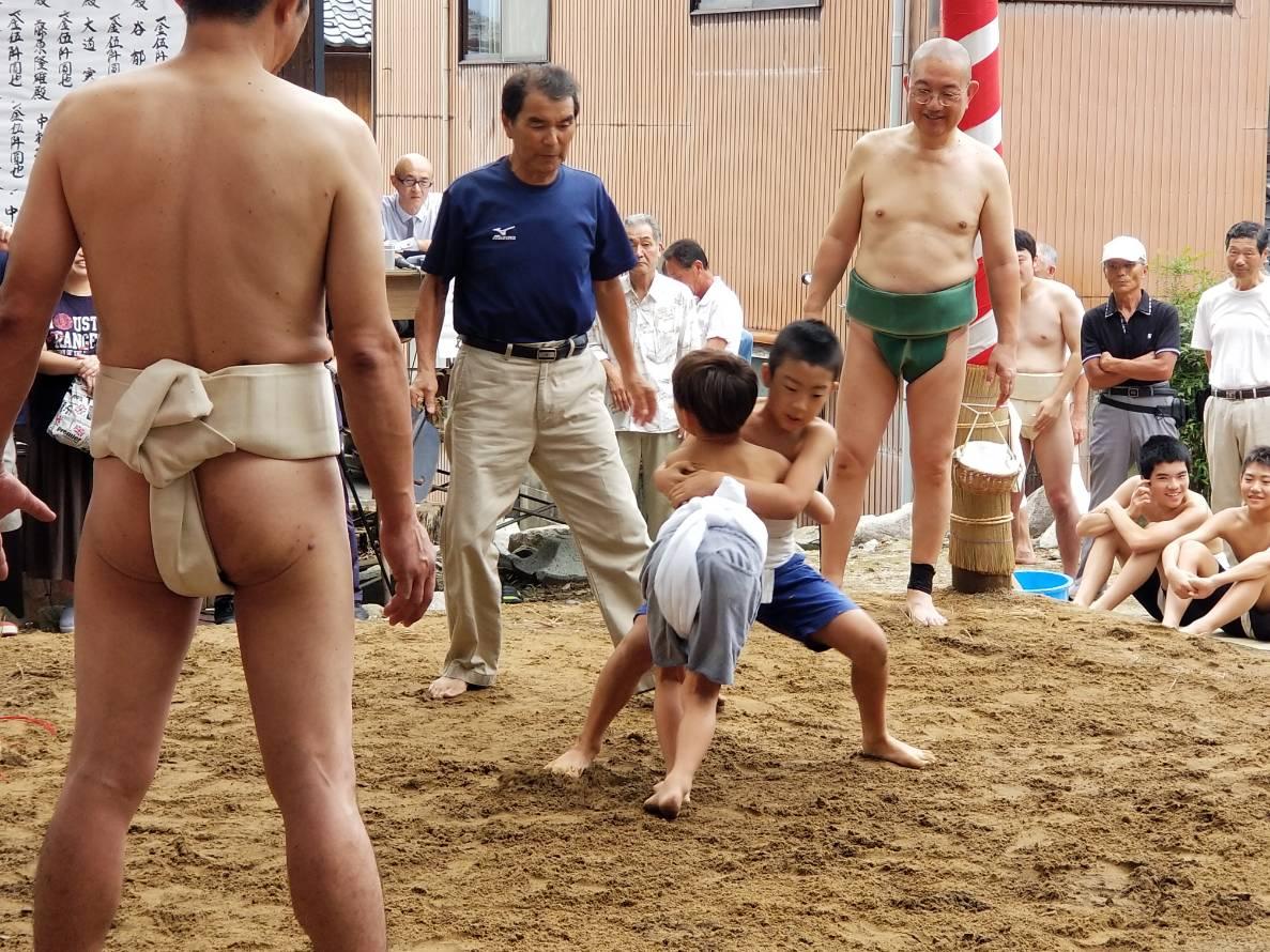 利椋(とくら)八幡神社 阿曽祭り参加